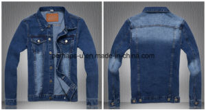 Hot Sale Mens Garment Fashion Wild Denim Jacket pictures & photos