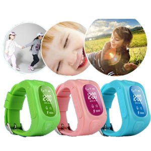 Color Smart Watch GPS Tracker with Free APP Operate Wt50-Ez pictures & photos