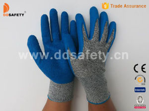 Ddsafety 2017 Anti Cut High Performance Safety Gloves with Latex Coated on Palm pictures & photos