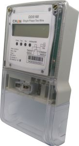 Single Phase Tamper Protection Electricity Energy Meter pictures & photos