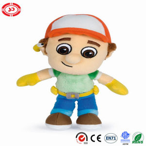 Little Man Designer Boy Cute Face Plush Stuffed Soft Doll pictures & photos
