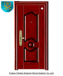 Steel Door Single Leaf Door Cold-Rolled Steel Security Door pictures & photos