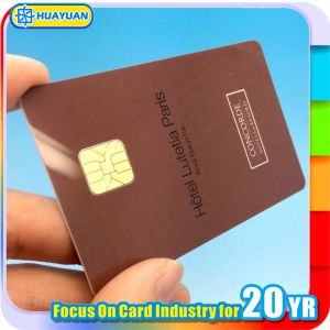 Access Control Identification Sle5542 PVC Contact Smart ID IC Card pictures & photos