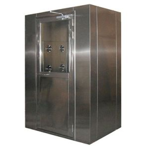 Steel Air Shower for Food Production Room Cleaning Projects