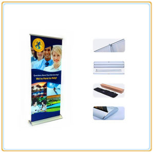 Roll-up Retractable Banner Stand Portable Trade Show Display pictures & photos