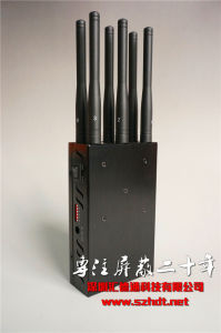 Portable GPS & WiFi & Phone Signal Jammer for Cars pictures & photos