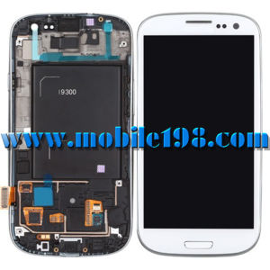 White LCD for Samsung Galaxy S3 Gt-I9300 with Digitizer Touch pictures & photos