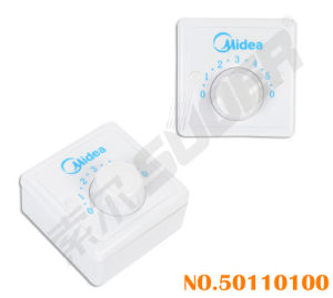 Suoer Electric Fan Switch Good Quality Square Governor for Fans (50110100-Governor-Fan-Midea(Square)) pictures & photos