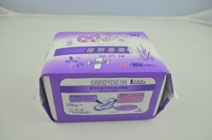 High Quality Competitive Price Disposable Lady Sanitary Napkin (QQ01) pictures & photos