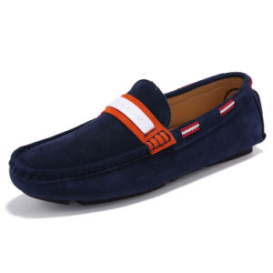 Leather Shoes Fashion Loafer Wholesale Footwear Men Driving Shoe (AK9007) pictures & photos