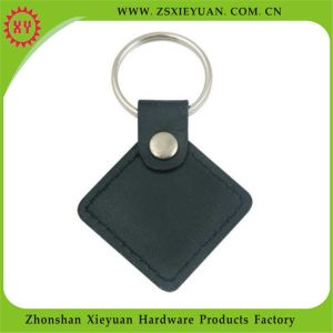 Promotional Items Prismatic Custom Leather Keychain pictures & photos