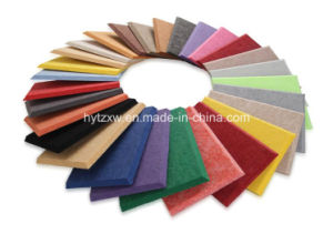Soundproofing Material Wall Panels Pet Polyester Fiber Acoustic Panel Board