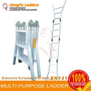 4*3 Workplatform Multi Purpose Ladder Aluminum Ladder pictures & photos