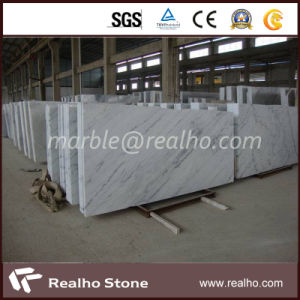 High Quality Polished Guangxi White Marble Slab for Sale pictures & photos