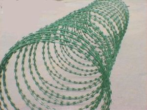 PVC Coated Razor Barbed Wire (Factory Directly Supply) pictures & photos