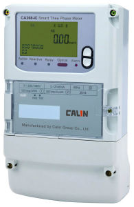 Smart Three Phase GPRS Energy Meter with Ami AMR System pictures & photos