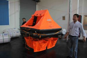 ISO Life Raft for Yacht with Valise Packing pictures & photos