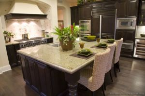 Dark Walnut Kitchen Cabinets (dw44) pictures & photos