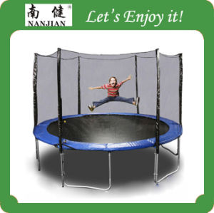 Outdoor Exercise Equipment 15ft Kids Jumping Easy Trampoline pictures & photos