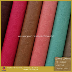 Low Price Synthetic Leather for Bags (BB005) pictures & photos