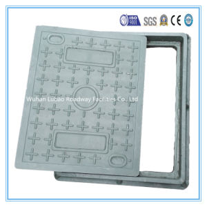 En124 A15 400X500mm Square Composite Manhole Top