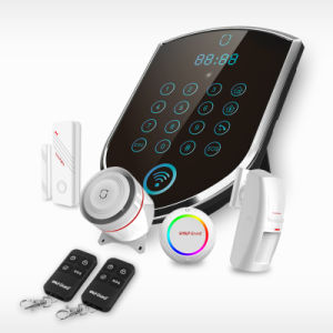 Security Home System Hottest WiFi / GPRS + GSM Home Alarm DIY Wireless GSM Alarms pictures & photos