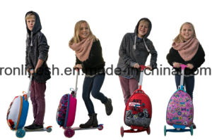 3 Wheel/Three Wheeled Kids 3 in 1 Luggage Scooter/Bag Scooter/Backpack Scooter/Speed Bag/Suitcase Scooter for 3 to 8years Kids or Children pictures & photos