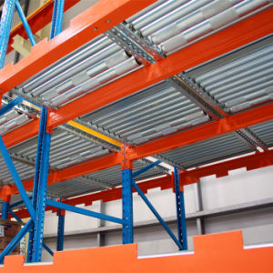 Pallet Fifo Rack with Gravity Flow pictures & photos