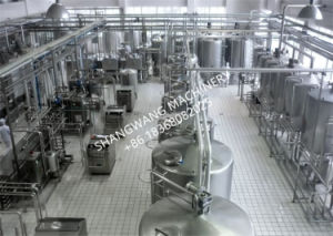 Hot Sale Turn-Key Fermented Milk Production Line pictures & photos