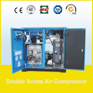 200kw 26~35.8m3/Min Screw Air Compressor with Air Receiving Tank and Dryer pictures & photos