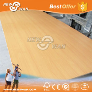 Embossed Melamine MDF Board Sheet / MDF Furniture Board pictures & photos