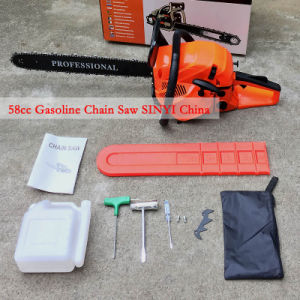 2016 New Gasoline Chain Saw (58CC) Easy Starter High Quality Chainsaw with Quality Warranty pictures & photos