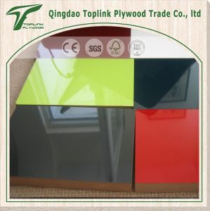 UV High Gloosy Melamine MDF, Plain MDF Board pictures & photos