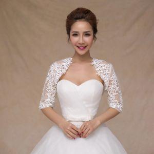 Aoliweiya Wedding Jacket Bridal Shawl Bride Wraps with Sleeves pictures & photos