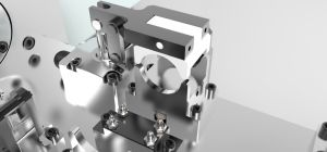 Piston 4-Axis Hydraulic Fixture pictures & photos