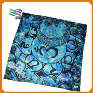 Custom Printed Size Silk Like Handkerchief (HY-AF2350) pictures & photos