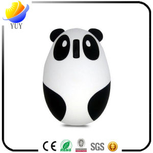 Two-Color Creative Panda Rechargeable USB Wireless Mouse pictures & photos