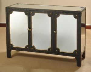Antique Mirror French Living Room Furniture Cabinet pictures & photos