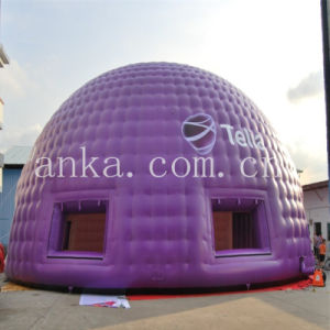 Giant Purple Color Inflatable Dome Event Tent pictures & photos