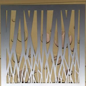Decorative Laser Cut Aluminum Perforated Wall Cladding Panel pictures & photos