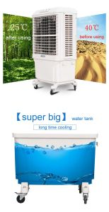 Big Size Plastic Mobile Evaporative Air Cooler pictures & photos