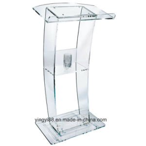 Super Quality Acrylic Lectern Shenzhen Factory pictures & photos