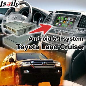 Android 5.1 GPS Navigation System Box for Toyota Land Cruiser J200 Video Interface etc pictures & photos