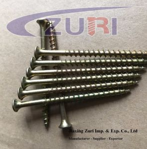 C1022 Steel Hardend Drywall Screws Yellow Zinc4.8*70 pictures & photos
