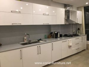 Custom Sized Made Solid Surface Kitchen Countertop Cheap Price pictures & photos