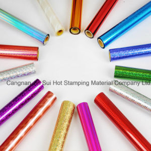 Varies Colored Foil for Plastic Paper Leather pictures & photos