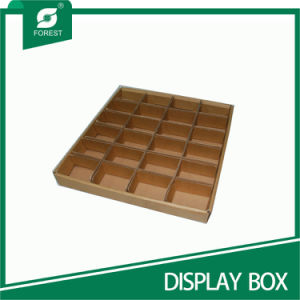 OEM White Corrugated Slice Trays with Dividers Wholesale pictures & photos