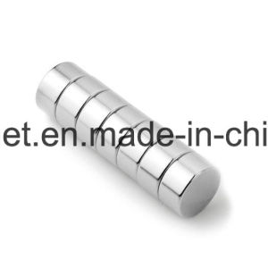 High Performance Sintered Disc Permanent NdFeB Magnets pictures & photos