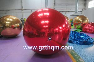 Inflatable Hang Mirror Surface Ball Inflatable Mirror Ball for Advertising, Inflatable Light Reflective Ball Inflatable Mirror Face Ball Inflatable Hanging Ball pictures & photos