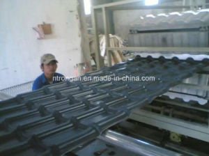 Popular ASA Layer Synthetic Resin Roofing Tile for Villa Project pictures & photos